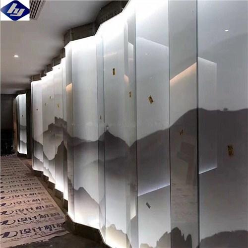 福州透明夹丝玻璃