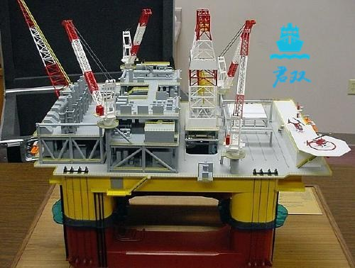 海洋工程模型 采购海工模 型海工模型定做 君双供
