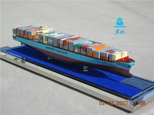 大型集装箱船模型 集装箱船结构模型 集装箱船舱室模型 君双供