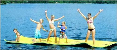 水上娱乐大型浮毯 水趣供