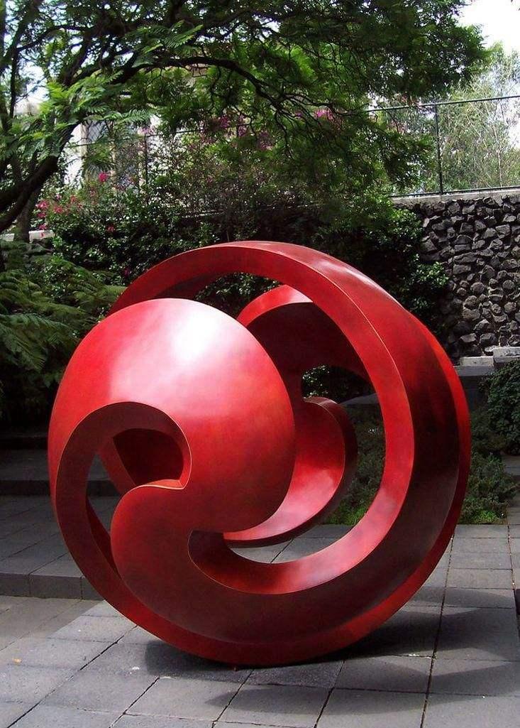 青岛抽象雕塑设计,抽象雕塑