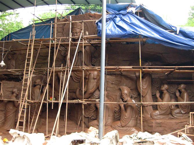 枣庄写实雕塑上门安装,写实雕塑