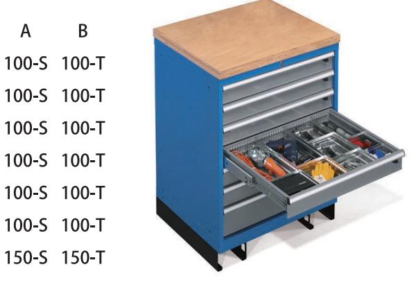 分隔板工具柜生产厂家「冠久供应」