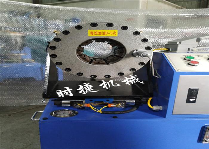 四川钢管缩头机 钢管套头机 时捷供应