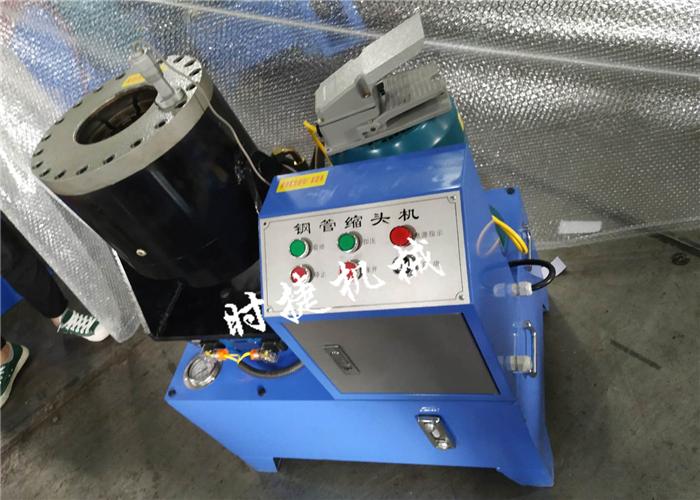 福建2019新款钢管扣压机 钢管压套筒机 时捷供应