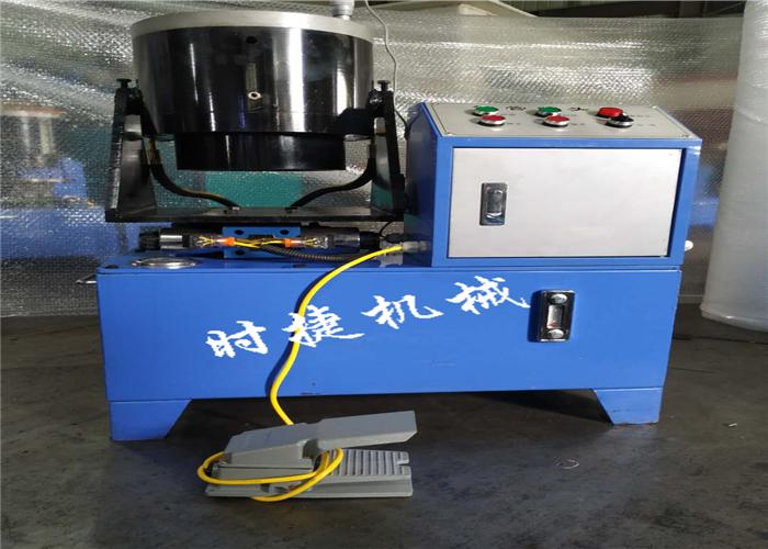 广西钢管扣压机 钢管压管机 时捷供应