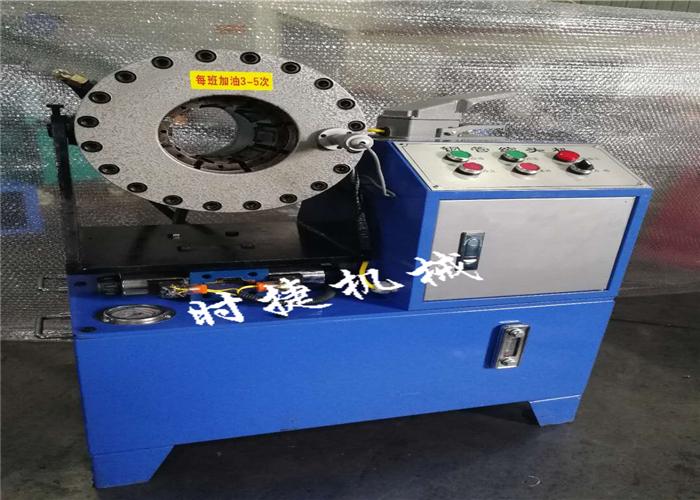 贵州供应缩管机 钢管套头机 时捷供应