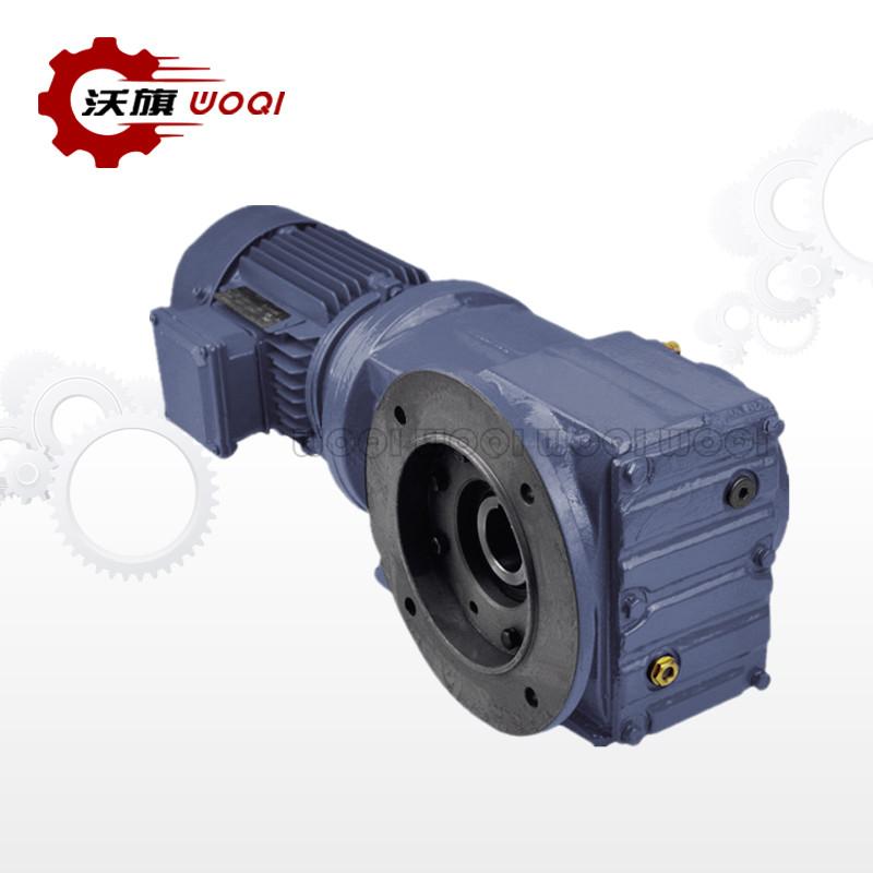 湖南K87齿轮减速机厂家实力雄厚 上海沃旗机械设备供应