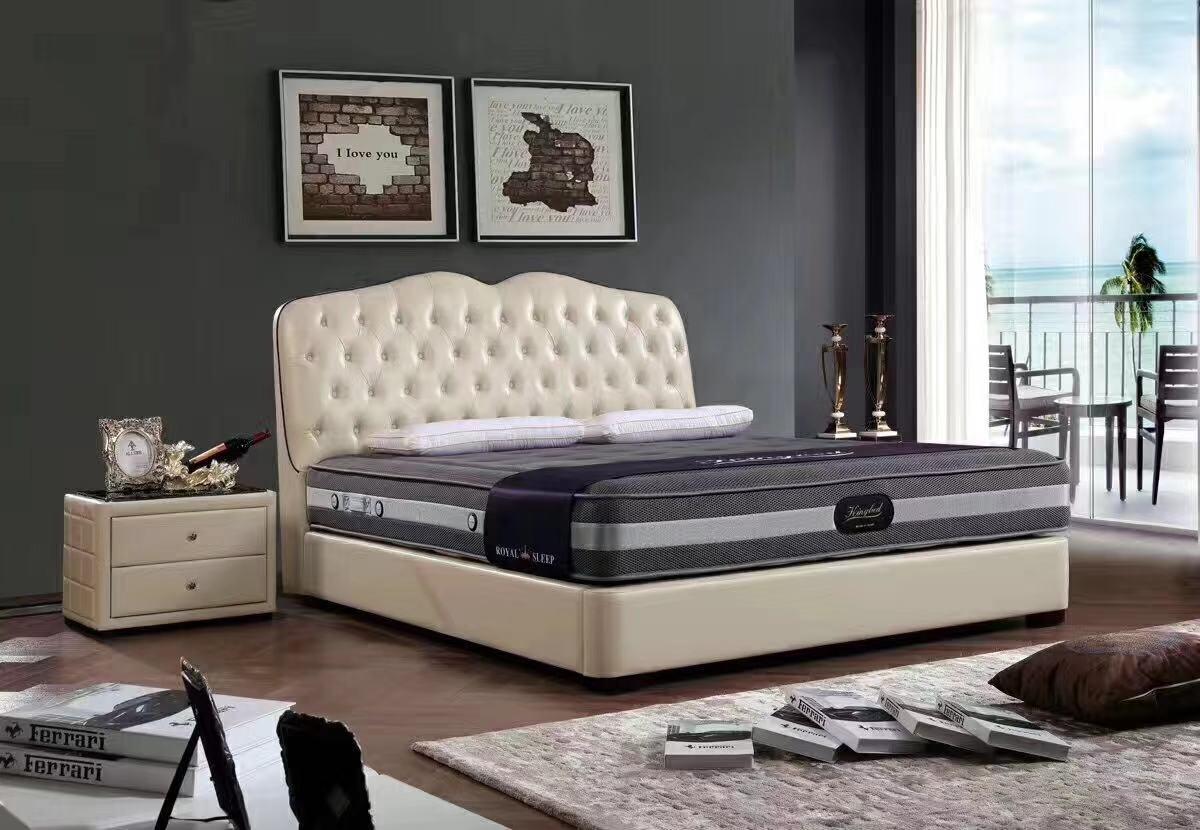 内蒙天然乳胶软床「瀚斯床垫」