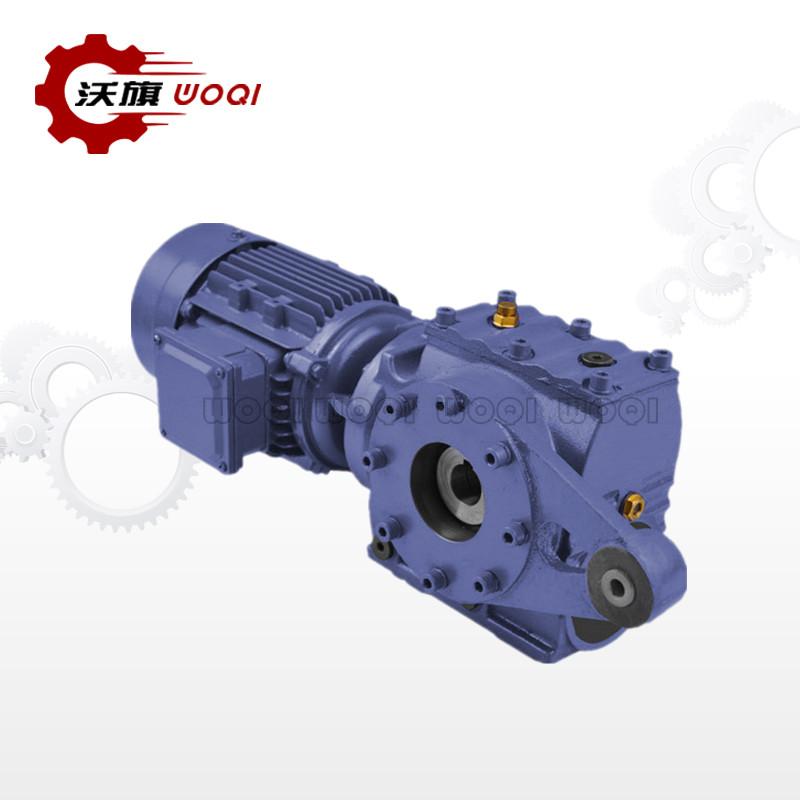 河北优良MTNAT47斜齿轮蜗轮蜗杆减速机 创造辉煌 上海沃旗机械设备供应
