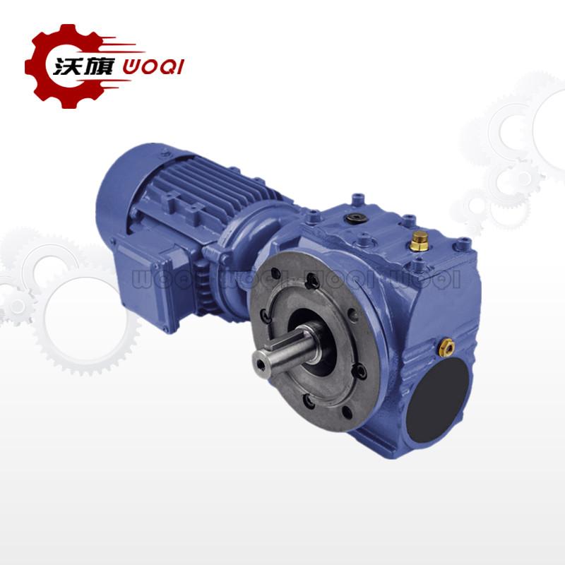 江西MTNAF47斜齿轮蜗轮蜗杆减速机可量尺定做 上海沃旗机械设备供应