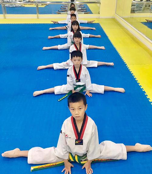 吴中区少儿跆拳道值得信赖「艺尚宝贝供应」
