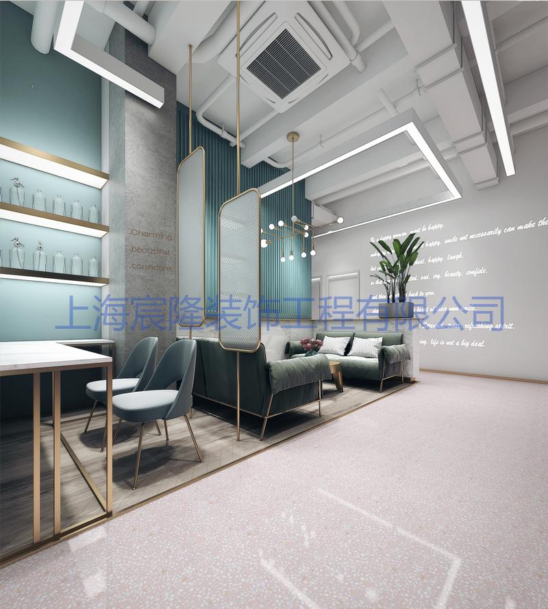 上海职业美容院装修高性价比的选择,美容院装修