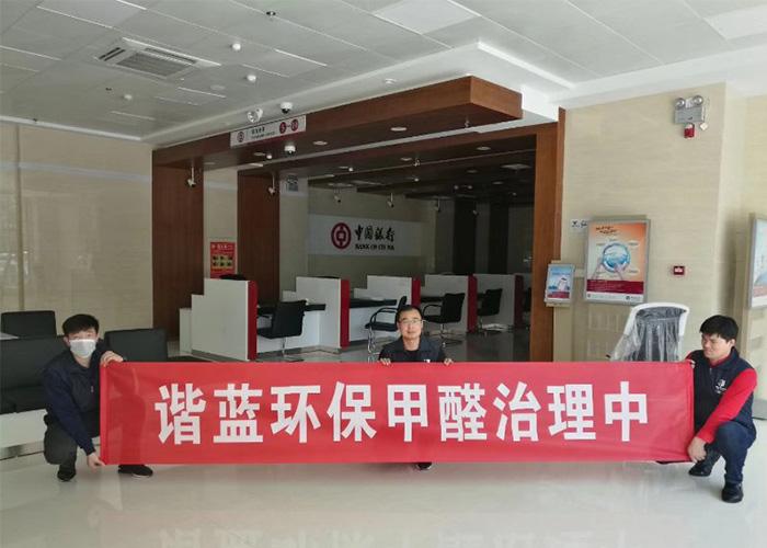 鄭州除甲醛公司 信息推薦 諧藍環保供應