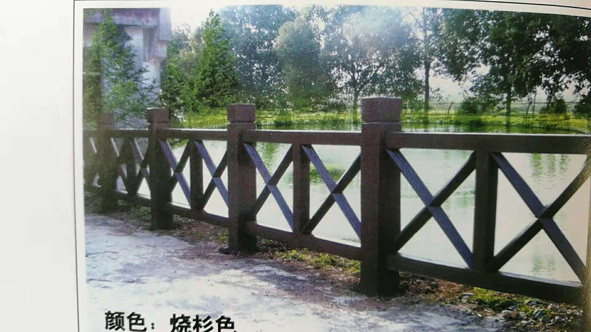 厦门质量好的水泥仿木栏杆,水泥仿木栏杆