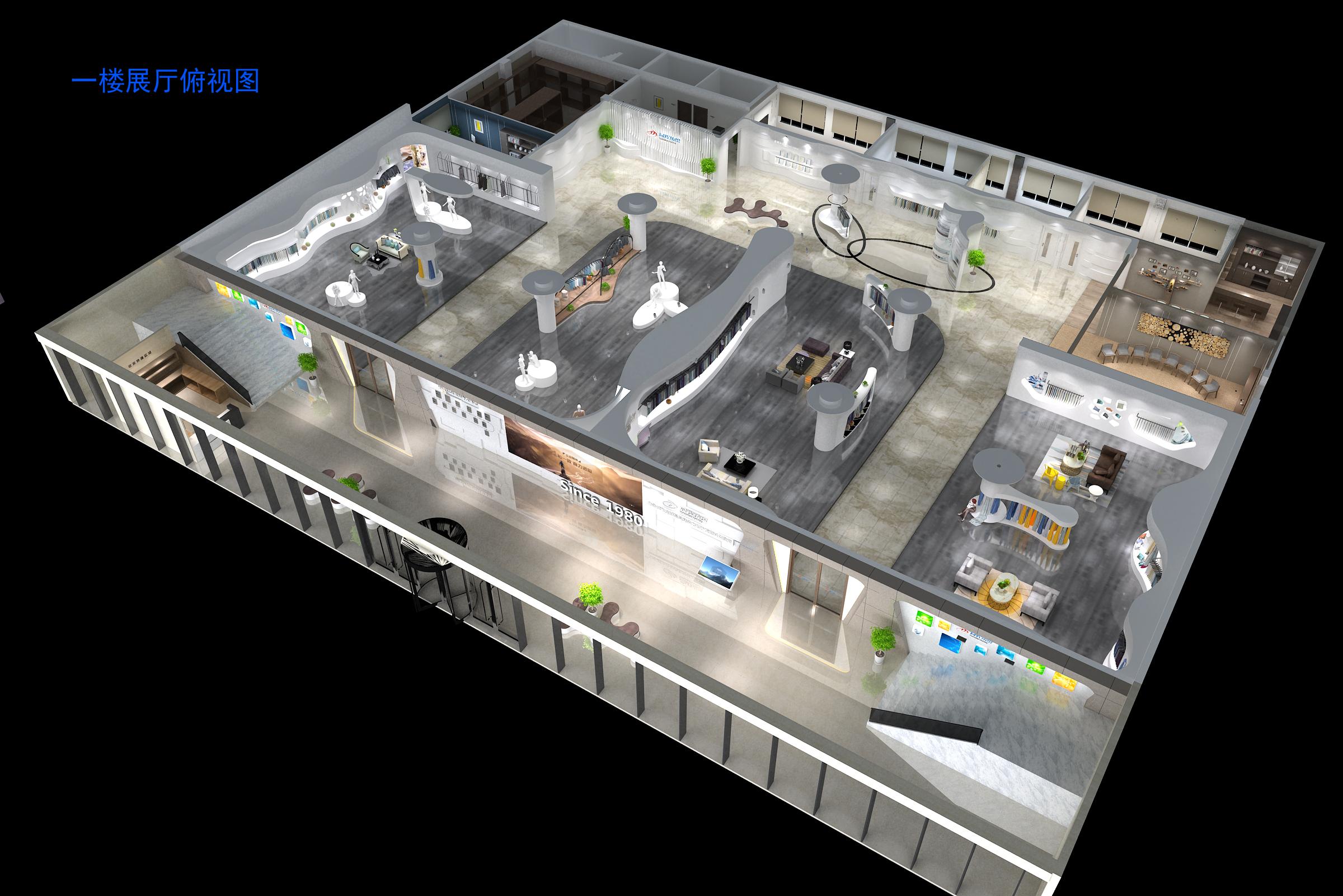 石家庄展厅设计装修性价比出众 创新服务「亚森供应」