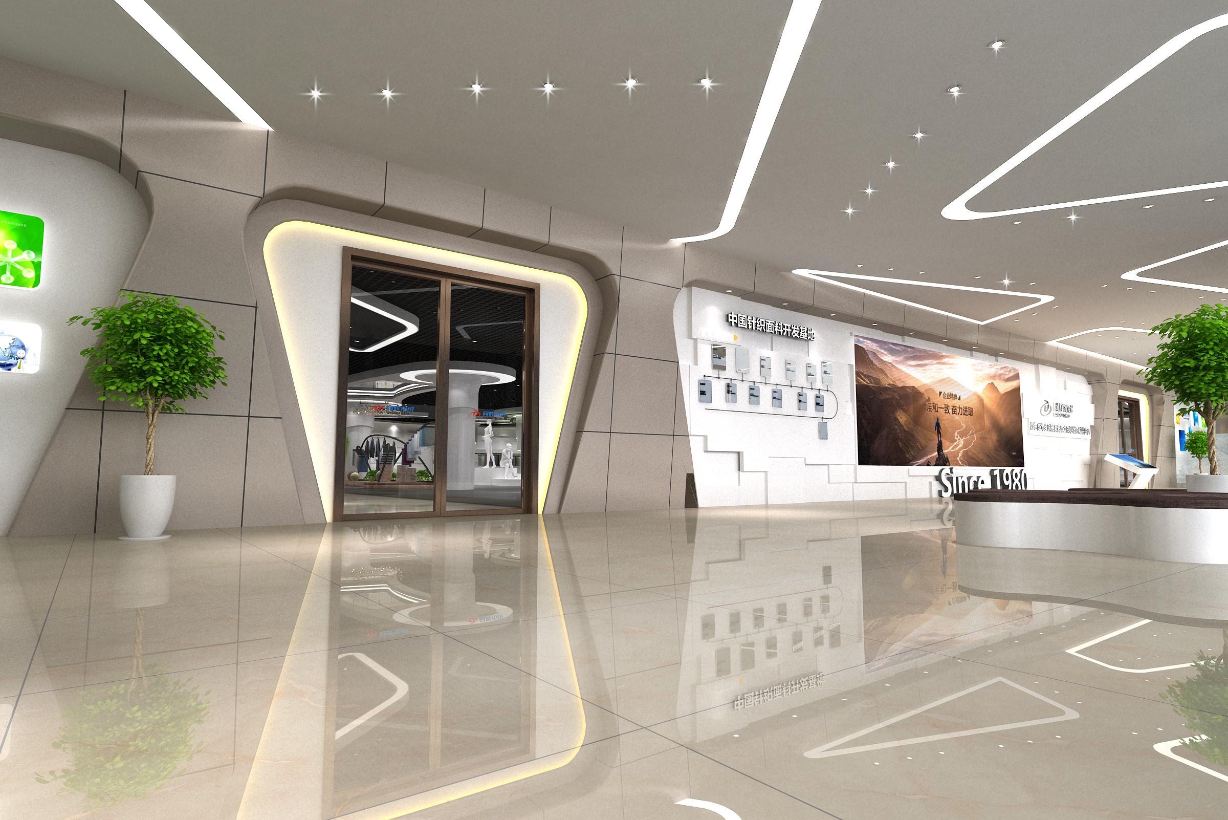 绍兴优质展厅设计装修 推荐咨询「亚森供应」