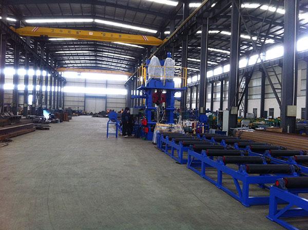 H型钢组焊矫一体机批发 华恒供应