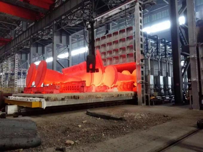 娄底台车式蓄热式加热炉出厂价,蓄热式加热炉
