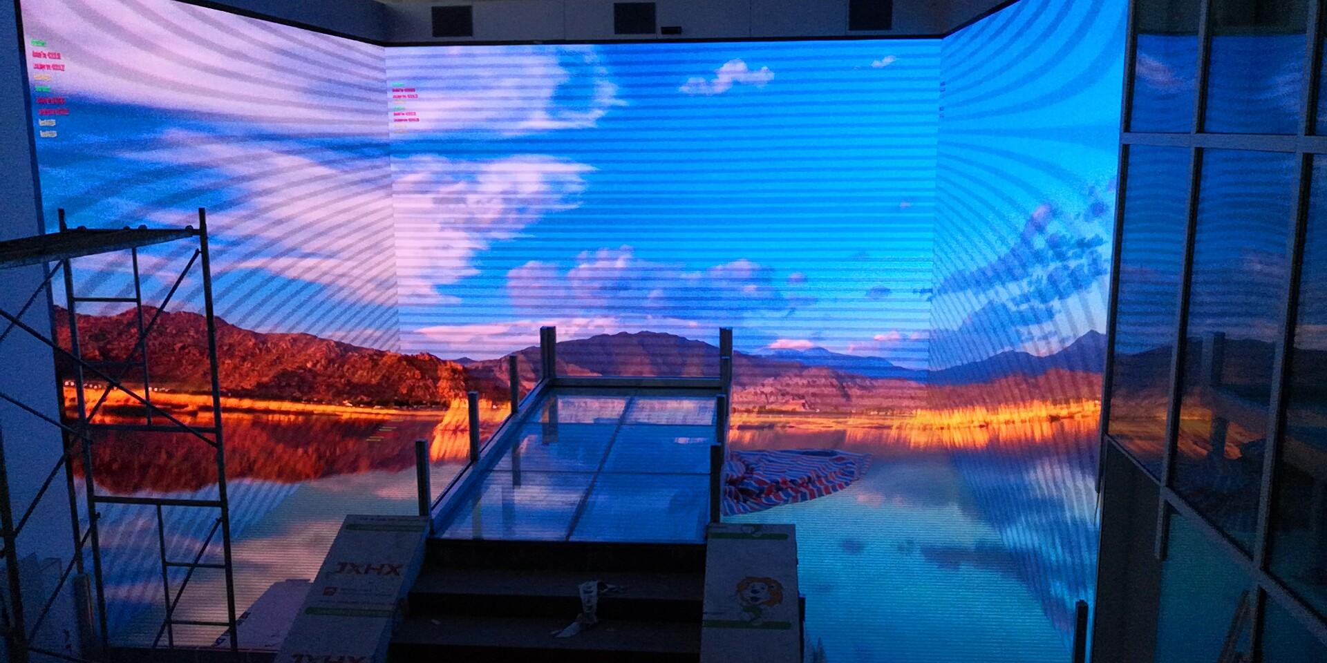 中国中国香港专用LED全彩拼接屏,LED全彩拼接屏