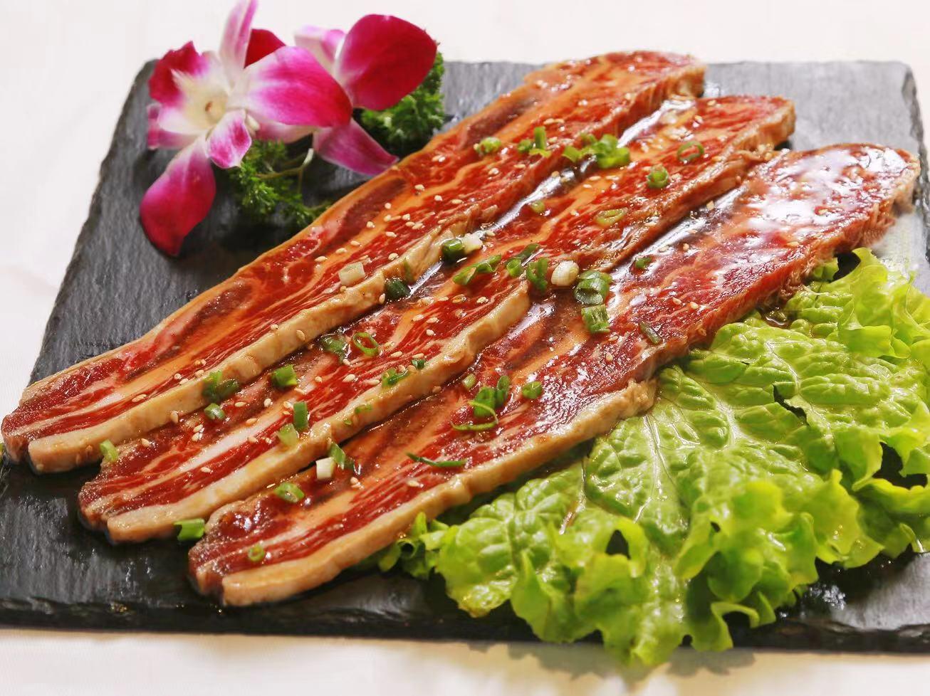 二道区正宗韩式烤肉订位「薇薇家烤肉店供应」