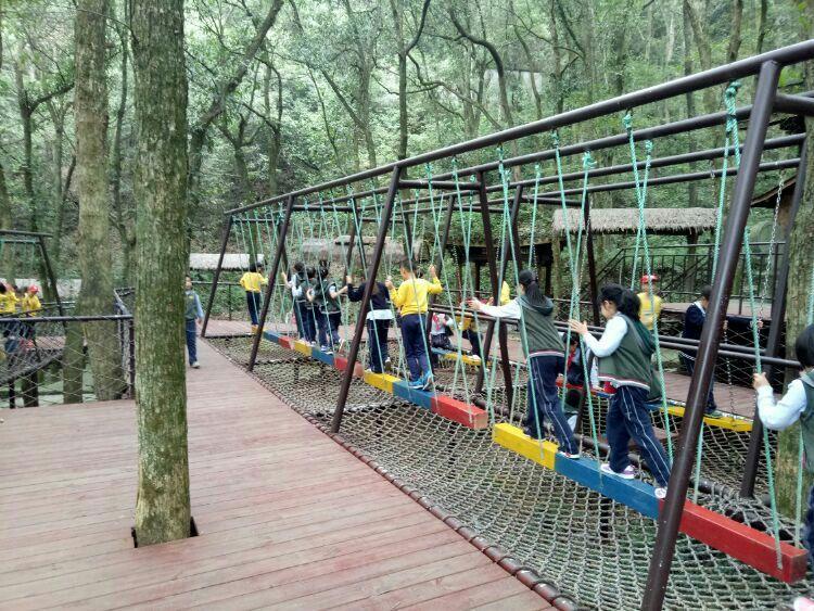广西省丛林穿越施工,丛林穿越