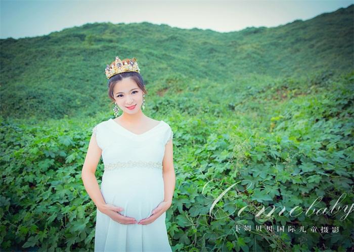 郑州专业拍摄孕妇照工作室「卡姆贝贝供应」