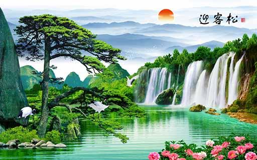 济南高清喷墨陶瓷壁画批发 艺林瓷砖壁画供应