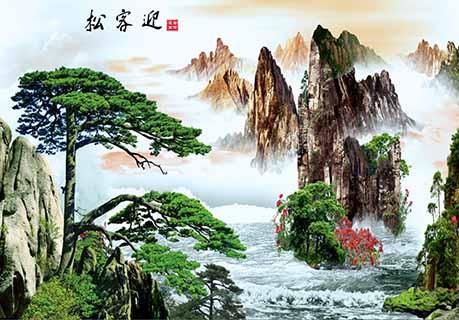 大同大型陶瓷壁画定制 艺林瓷砖壁画供应