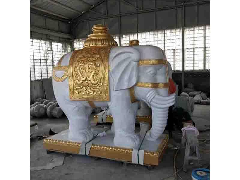 山东大象石雕热线,大象石雕