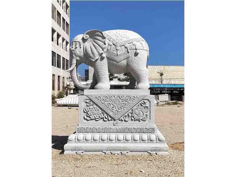 福建大象石雕价格 泉州鼎尚石业供应