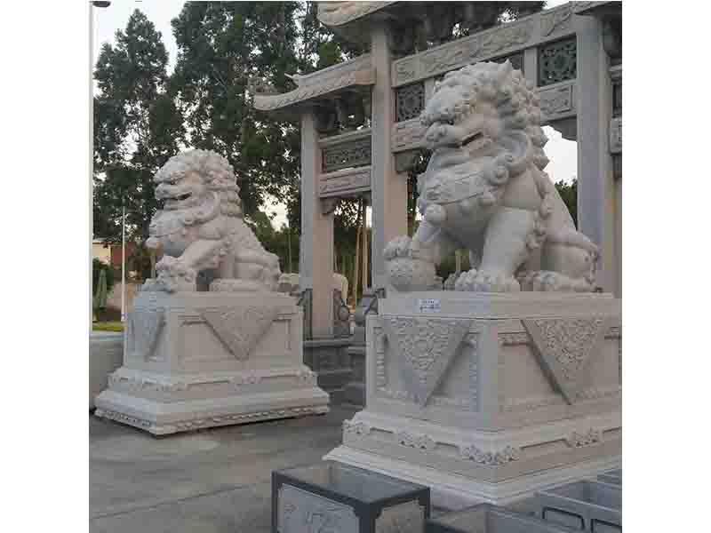 山东石狮子生产 泉州鼎尚石业供应