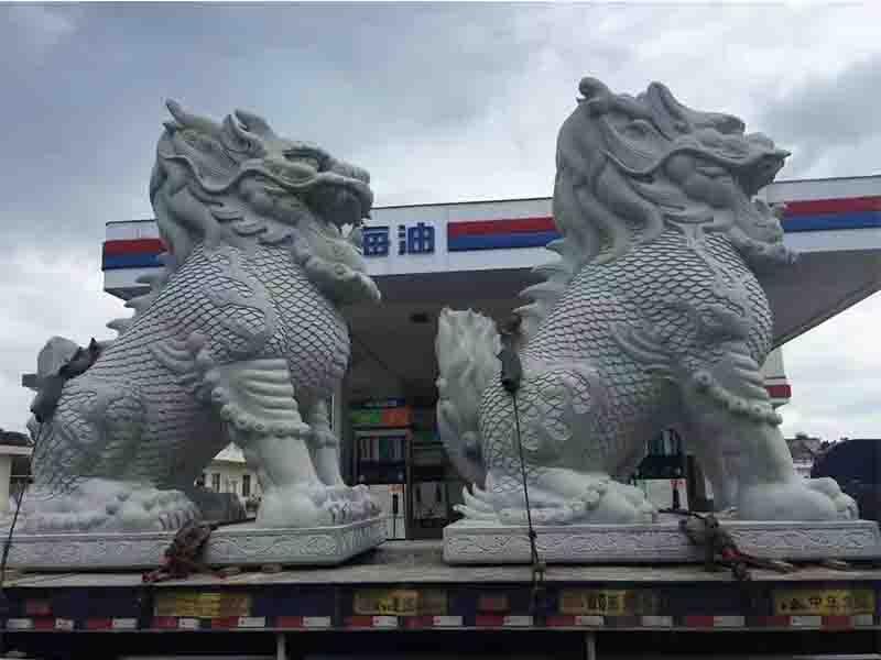 石雕麒麟 泉州鼎尚石业供应