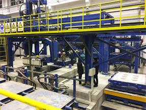 别墅铝合金大门铸造设备厂,铸造