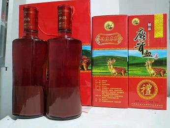 黑龙江鹿茸血酒「偃师市中鹿鹿场供应」