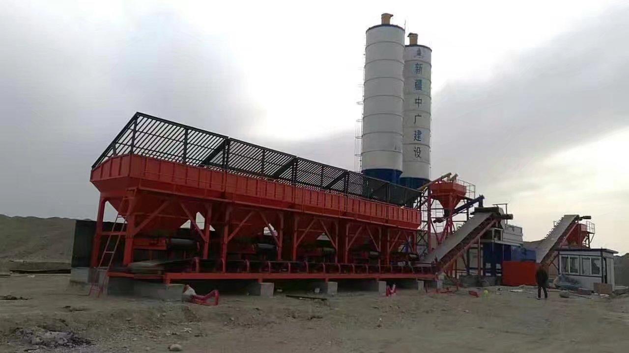 阿勒泰混凝土搅拌站厂家推荐 真诚推荐「绿洲机械供应」