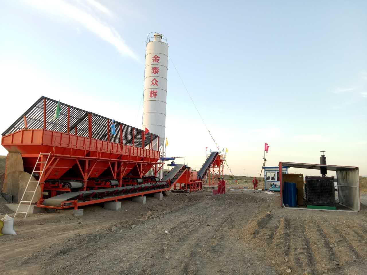喀什混凝土拌合站生产厂家,拌合站