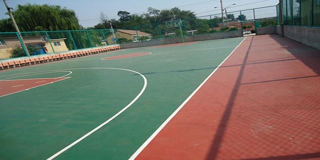 四川硅PU网球场 湖北帝冠体育设施供应