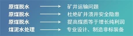 安徽煤矿井下原煤脱水系统哪家质量好 河南海光兰骏矿山技术供应