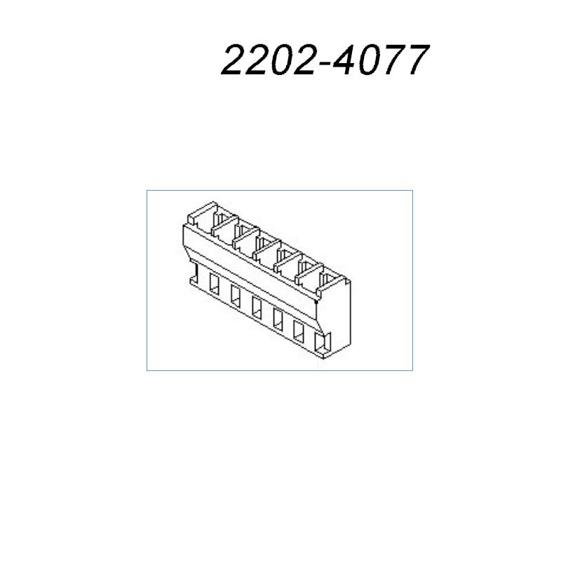 2202-4077美国莫仕新能源汽车接插件22024077针座,2202-4077