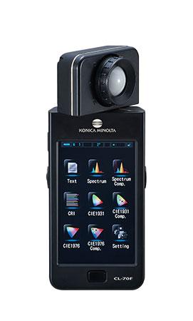 美能达显色照度计CL-70F一级代理商,显色照度计
