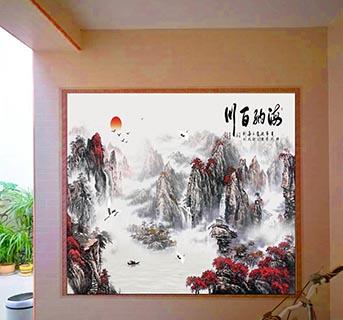 聊城手绘瓷板画设计 艺林瓷砖壁画供应