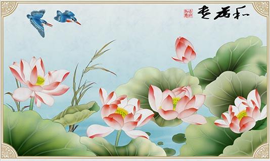 朔州瓷砖背景墙效果 艺林瓷砖壁画供应