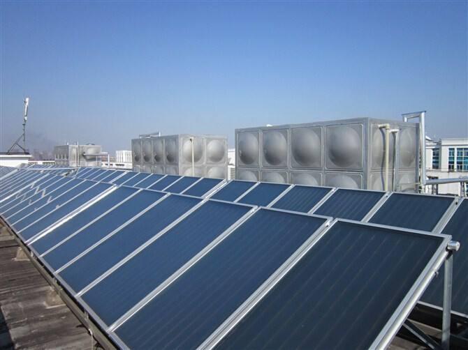 馬鞍山太陽能熱水工程造價 蘇州恩比達環保科技供應