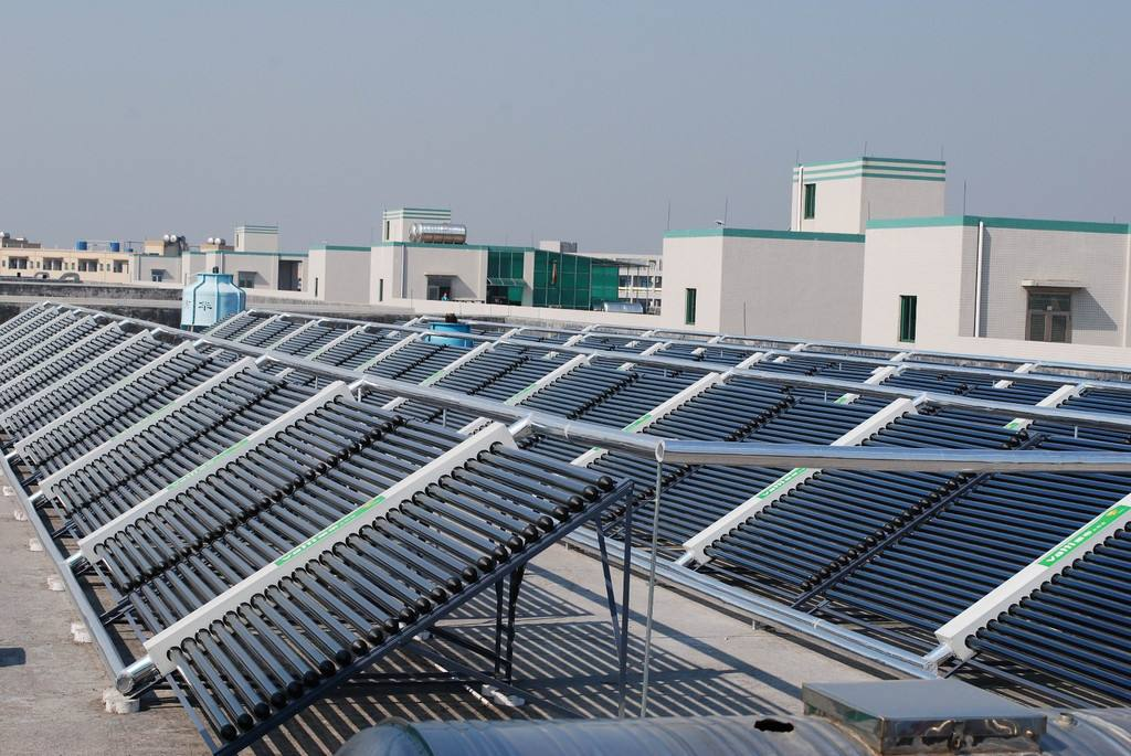 丽水太阳能热水工程