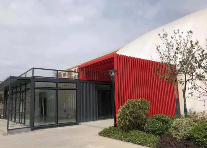 黔东南住人集装箱设计公司 铸造辉煌「云南创盛钢结构图片