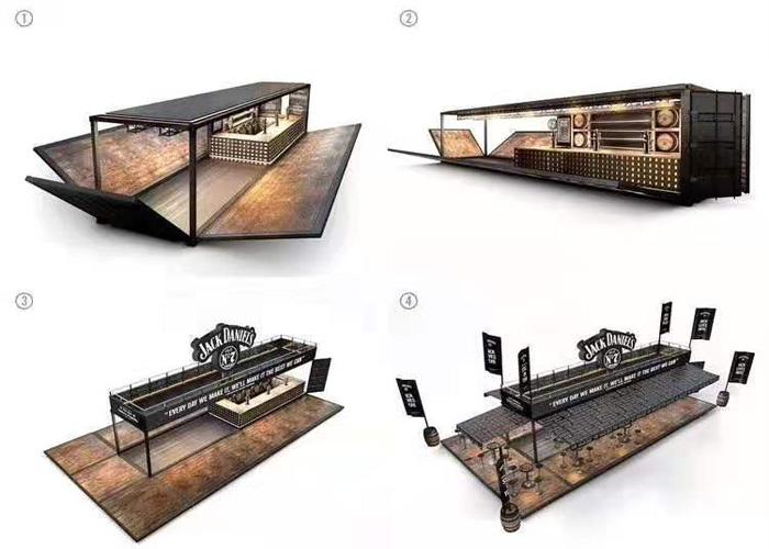 景洪轻型集装箱驿站,集装箱