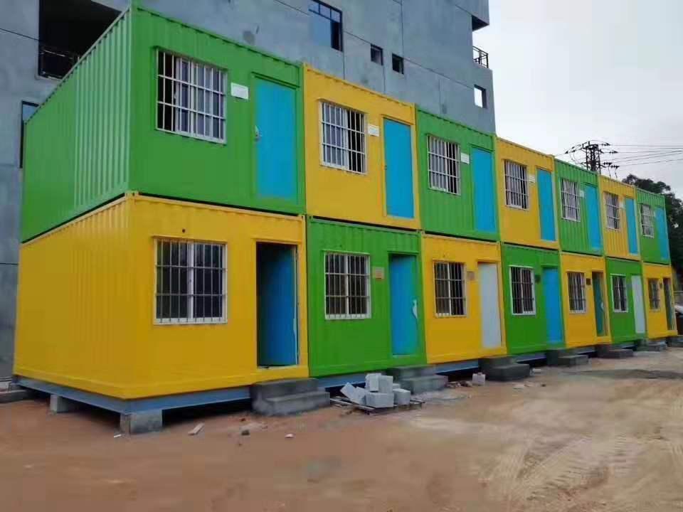 漳浦项目部办公室组装,项目部办公室