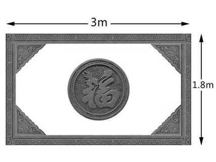 临汾砖雕多少钱一平方 艺林瓷砖壁画供应