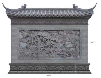 泰安影壁磚雕定制 藝林瓷磚壁畫供應